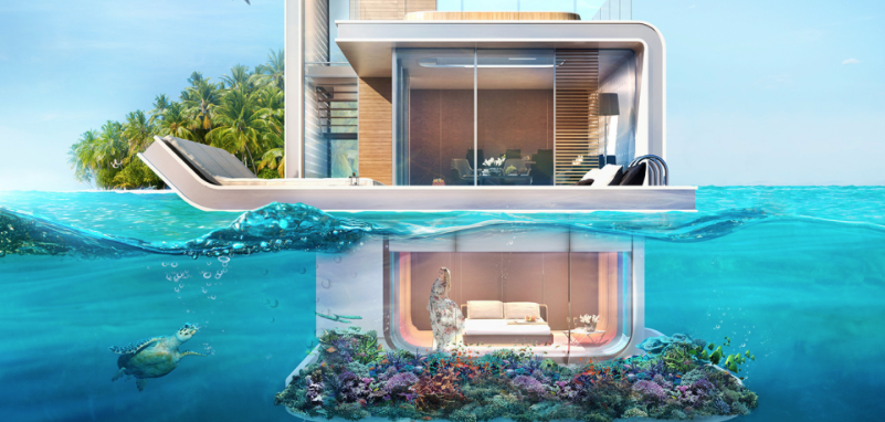 Floating Seahorse Villas. Photo: Kleindienst